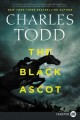 Cover for The black ascot [Large Print]