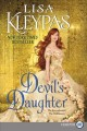 Cover for DEVIL'S DAUGHTER: the Ravenals meet the Wallflowers [Large Print]