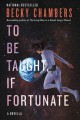Cover for To be taught, if fortunate