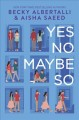 Cover for Yes no maybe so