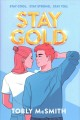 Cover for Stay gold