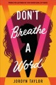Cover for Don't Breathe a Word