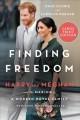 Cover for Finding freedom: harry and meghan and the making of a modern royal family [Large Print]