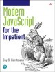Cover for Modern JavaScript for the impatient