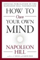 Cover for How to own your own mind