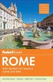 Cover for Fodor's Travel Rome