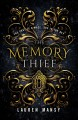 Cover for The memory thief