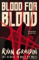 Cover for Blood for blood