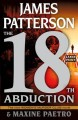 Cover for The 18th abduction [Large Print]