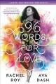 Cover for 96 words for love
