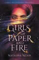 Cover for Girls of paper and fire
