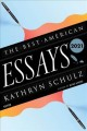 Cover for The Best American Essays 2021