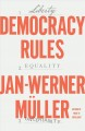 Cover for Democracy rules
