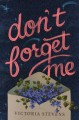 Cover for Don't forget me