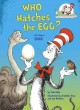 Cover for Who hatches the egg?: all about eggs