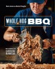 Cover for Whole hog BBQ: the gospel of Carolina barbecue, with recipes from skylight ...