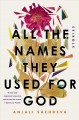 Cover for All the names they used for God: stories