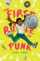 Cover for The first rule of punk