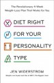 Cover for Diet right for your personality type: the revolutionary 4-week weight-loss ...