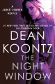 Cover for The night window: a Jane Hawk novel
