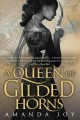 Cover for A queen of gilded horns