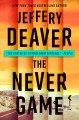 Cover for The never game