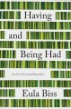 Cover for Having and being had
