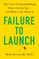 Cover for Failure to launch: why your twentysomething hasn't grown up...and what to d...