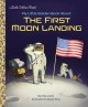 Cover for My Little Golden Book About the First Moon Landing