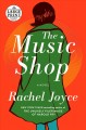 Cover for The music shop: a novel [Large Print]