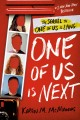 Cover for One of us is next