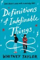 Cover for Definitions of indefinable things