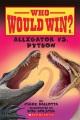 Cover for Alligator vs. python