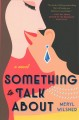 Cover for Something to talk about