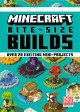 Cover for Minecraft Bite-size Builds