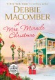 Cover for A MRS. MIRACLE CHRISTMAS: a novel [Large Print]