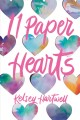 Cover for 11 paper hearts