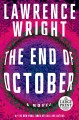 Cover for The end of october [Large Print]