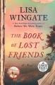 Cover for The book of lost friends: a novel [Large Print]