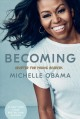 Cover for Becoming [Young Readers' Edition]: adapted for young readers