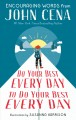 Cover for Do your best every day to do your best every day: encouraging words from Jo...