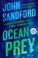 Cover for Ocean prey [Large Print]