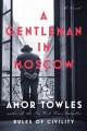Cover for A gentleman in Moscow