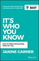 Cover for It's Who You Know: Make Networking Work for You