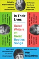 Cover for In their lives: great writers on great Beatles songs