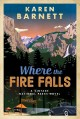 Cover for Where the fire falls: a vintage national parks novel