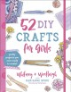 Cover for 52 DIY crafts for girls