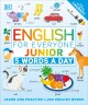Cover for English for Everyone Junior: 5 Words a Day