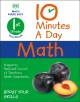 Cover for 10 minutes a day math: 1st grade workbook