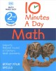 Cover for 10 minutes a day math: 2nd grade workbook